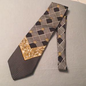 Gianni Versace Istante silk tie